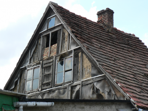 Verfallenes Haus